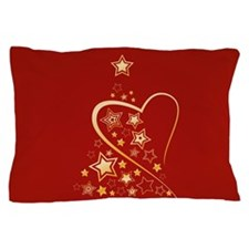 Starry Christmas Tree Pillow Case