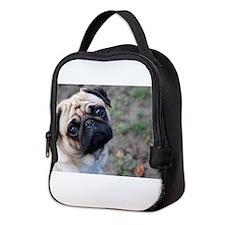 Pug Neoprene Lunch Bag