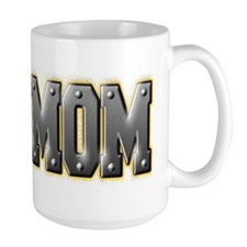 IronMom Ironman Metal Text Mugs