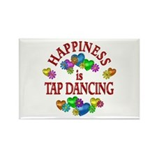 Happiness is Tap Danci Rectangle Magnet (100 pack)