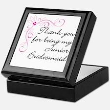 Jr. Bridesmaid gift Keepsake Box
