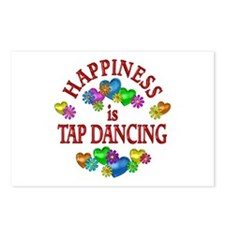 Happiness is Tap Dancing Postcards (Package of 8)