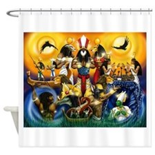 The Gods81.png Shower Curtain
