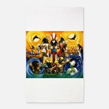 The Gods81.png 3'x5' Area Rug
