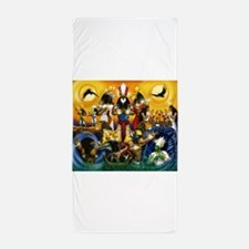 The Gods81.png Beach Towel