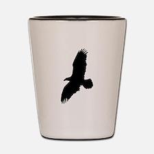 Eagle Silhouette Shot Glass