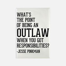 Breaking Bad Jesse Pinkman Rectangle Magnet
