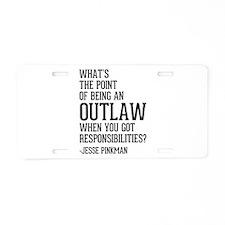 Breaking Bad Jesse Pinkman Aluminum License Plate