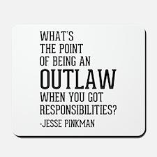 Breaking Bad Jesse Pinkman Mousepad