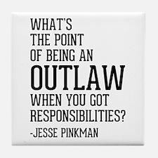 Breaking Bad Jesse Pinkman Tile Coaster