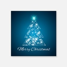 Sparkly Christmas Tree Sticker