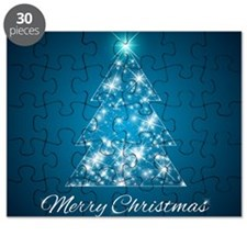 Sparkly Christmas Tree Puzzle