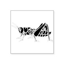 Grasshopper Silhouette Sticker