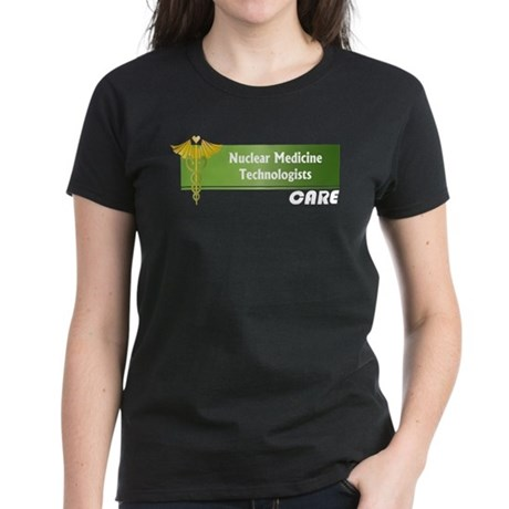 Nuclear Medicine Technologists Care Women's Dark T