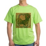 Polish Rooster Green T-Shirt