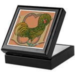 Polish Rooster Keepsake Box