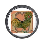 Polish Rooster Wall Clock