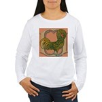 Polish Rooster Women's Long Sleeve T-Shirt
