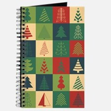 Christmas Tree Patches Journal