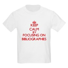 Bibliographies T-Shirt