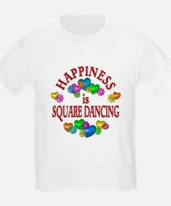 Happiness is Square Dancing T-Shirt