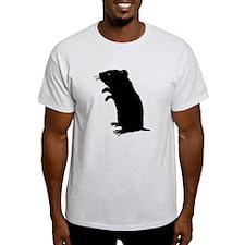 Gerbil Silhouette T-Shirt