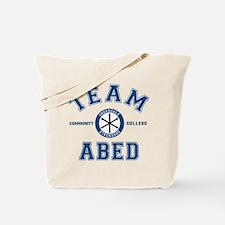 Community Team Abed Tote Bag