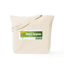 Neuro Surgeons Care Tote Bag