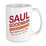 Better call saul Large Mugs (15 oz)