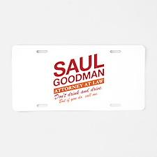 Breaking Bad - Saul Goodman Aluminum License Plate