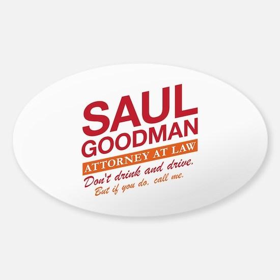 Breaking Bad - Saul Goodman Sticker (Oval)