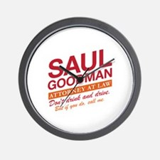 Breaking Bad - Saul Goodman Wall Clock