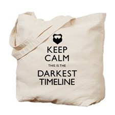 Keep Calm Darkest Timeline Community Tote Bag