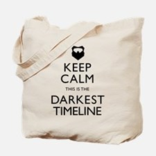 Keep Calm Darkest Timeline Community Tote Bag