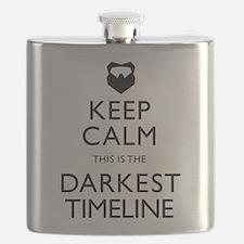 Keep Calm Darkest Timeline Community Flask