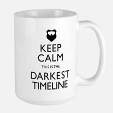 Keep Calm Darkest Timeline Community Mugs
