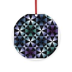 Kaleidoscope Ornament (Round)