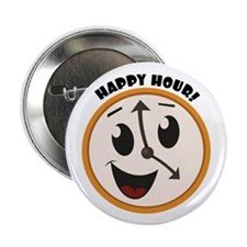 """Happy Hour! 2.25"""" Button (100 pack)"""