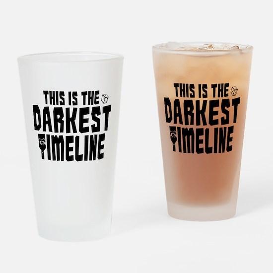 This Is The Darkest Timeline Community Drinking Gl
