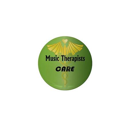 Music Therapists Care Mini Button