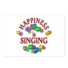 Happiness is Singing Postcards (Package of 8)