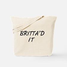 Britta'd It Community Tote Bag
