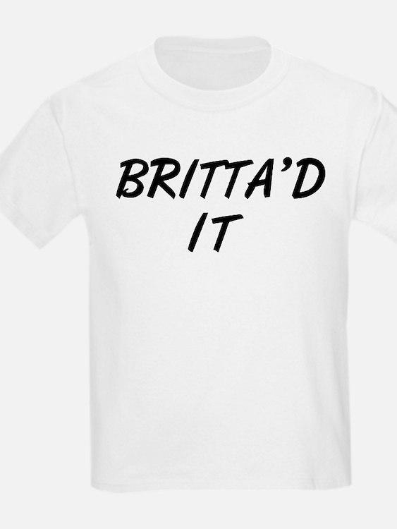 Britta'd It Community T-Shirt