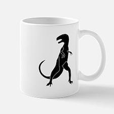 Tyrannosaurus Rex Silhouette Mugs