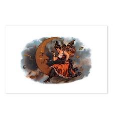 Maiden on Crescent Moon Postcards (8)