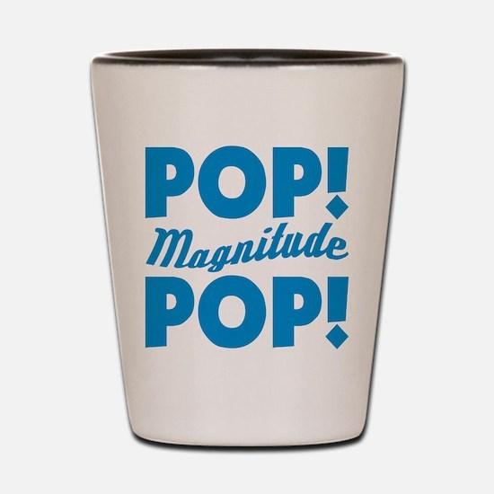 Community Pop Pop Magnitude Shot Glass