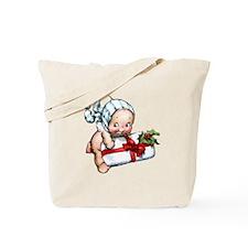 cupie brings a christmas Tote Bag