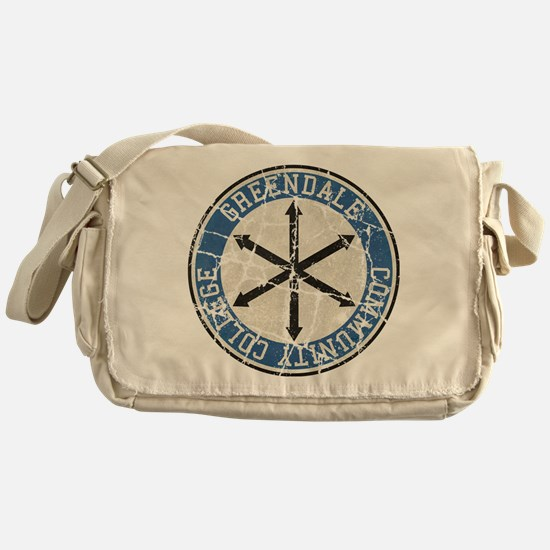 Greendale Community College Vintage Messenger Bag