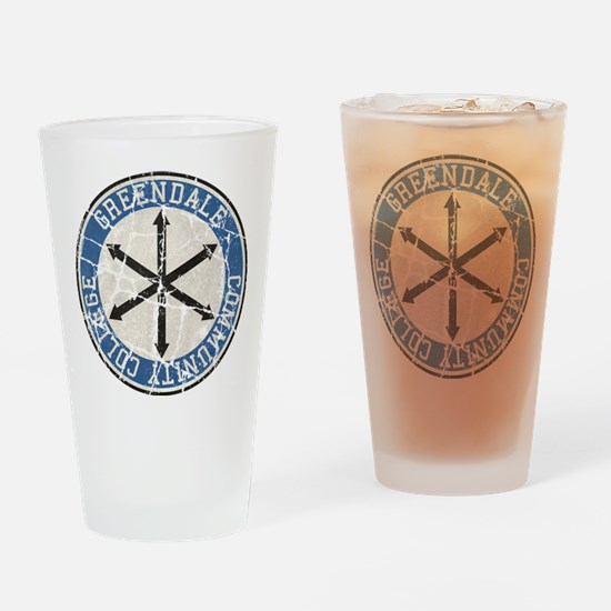 Greendale Community College Vintage Drinking Glass