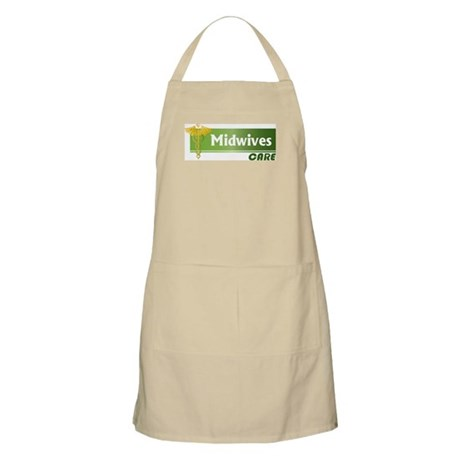 Midwives Care BBQ Apron